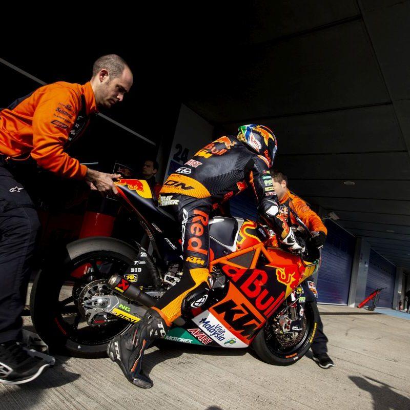 Brad Binder Jerez test 2