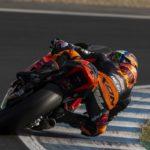 Brad Binder Jerez test 3