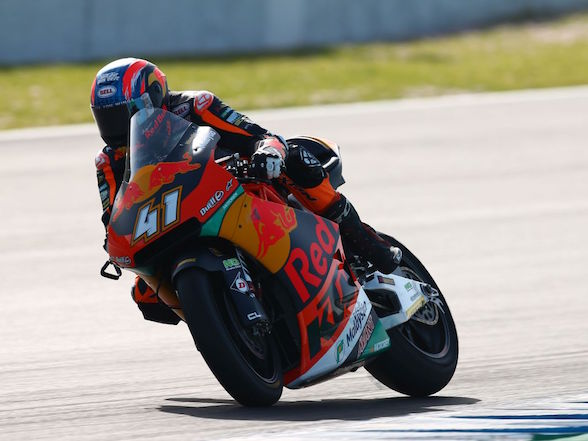 Brad Binder finishes top five in Jerez Test Day One