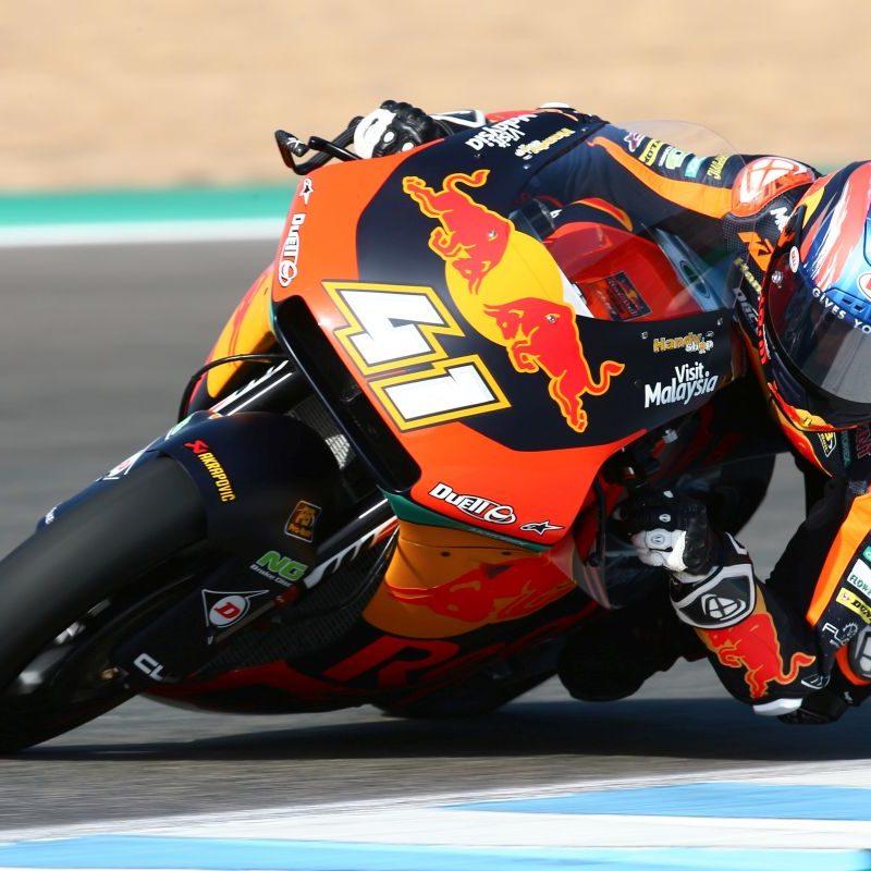 Brad Binder Jerez test 5