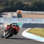 Brad Binder Jerez test 6