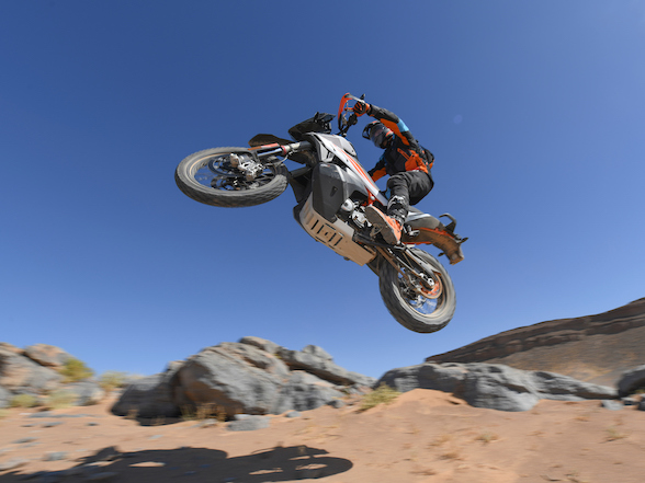 KTM 790 Adventure & Adventure R in Morocco