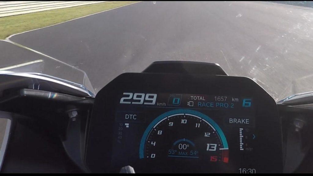BMW S 1000 RR Estoril Top Speed