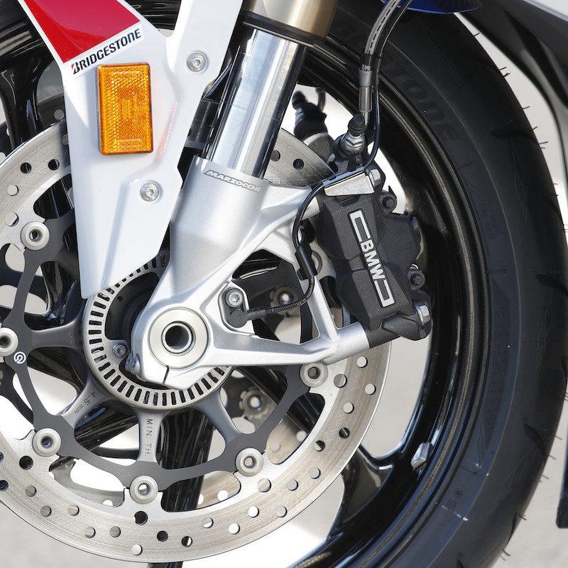 BMW S1000RR 2019 Launch RR brakes