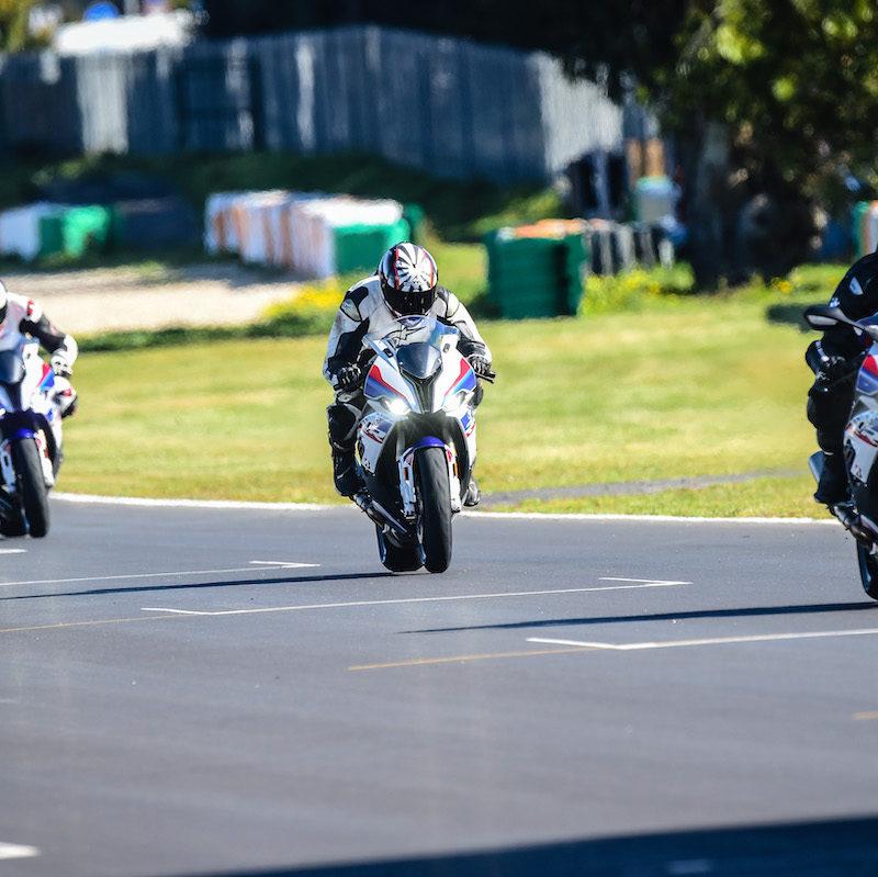 BMW S1000RR 2019 Launch RR following BMW rider