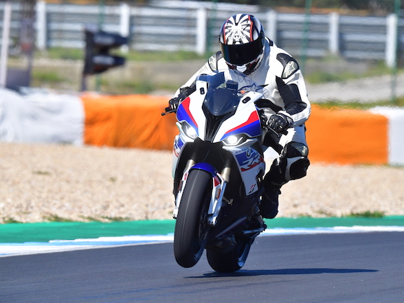"BMW S 1000 RR Launch Report: ""Every bit as easy as an HP4 Race, perhaps more so"""