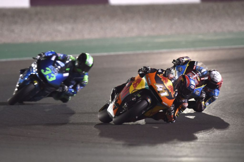 Brad Binder Qatar 2019 elbow
