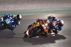 """Brad Binder on Qatar: """"It was very difficult to stay upright"""""""