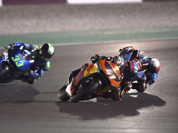 "Brad Binder on Qatar: ""It was very difficult to stay upright"""
