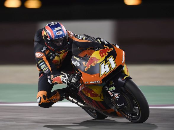 "Brad Binder on Qatar test: ""Over the last two days, we couldn't find what we were looking for"""