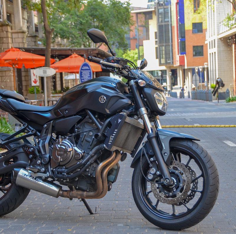 Fire it Up 2017 Yamaha MT-07 4054