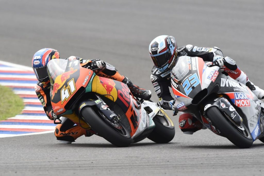 Brad Binder KTM Red Bull Moto2 Argentina face race