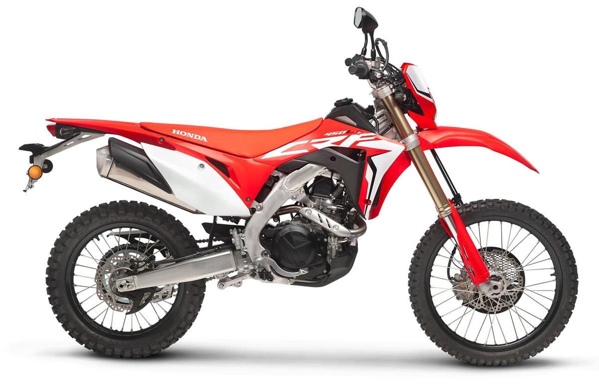 2019 Honda CRF250L The Bike Show studio