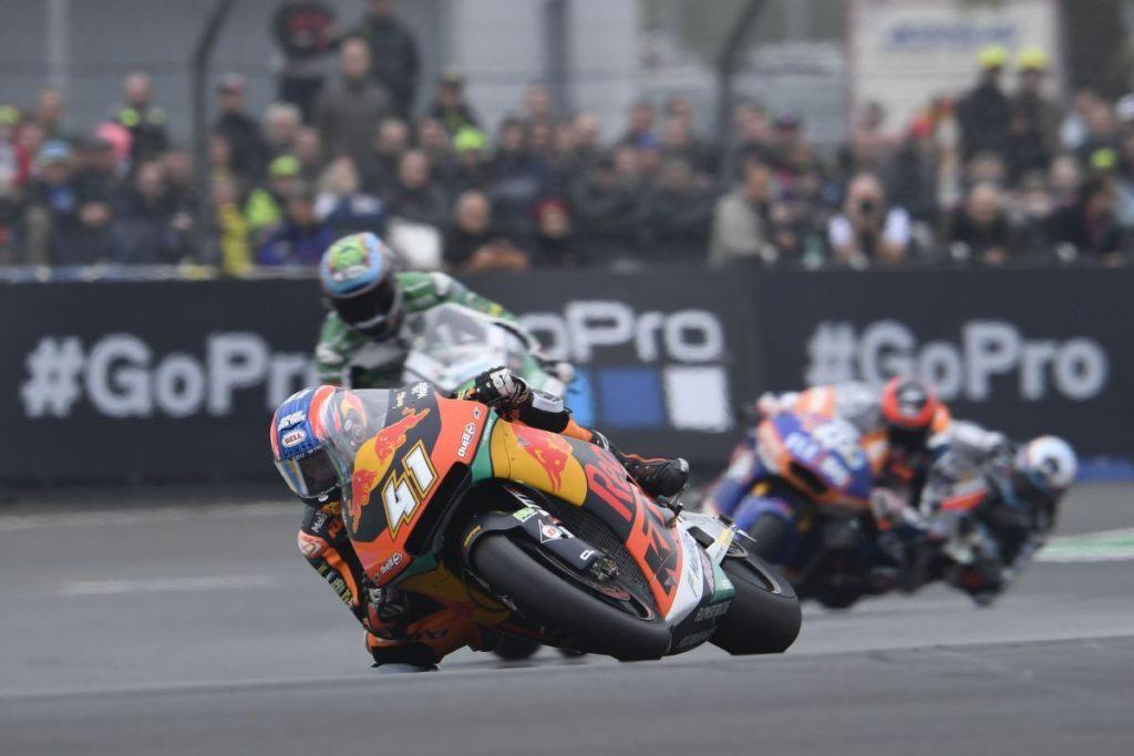 Brad Binder Le Mans Moto2 KTM Red Bull