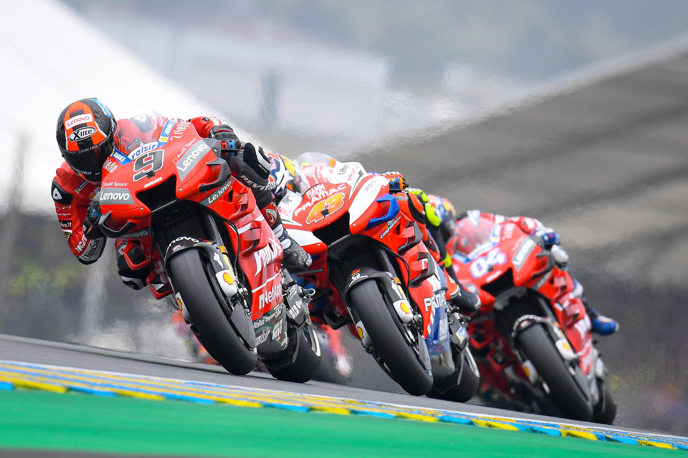 Danilo Petrucci vs Jack Miller MotoGP World Superbike Donovan Fourie The Bike Show trio