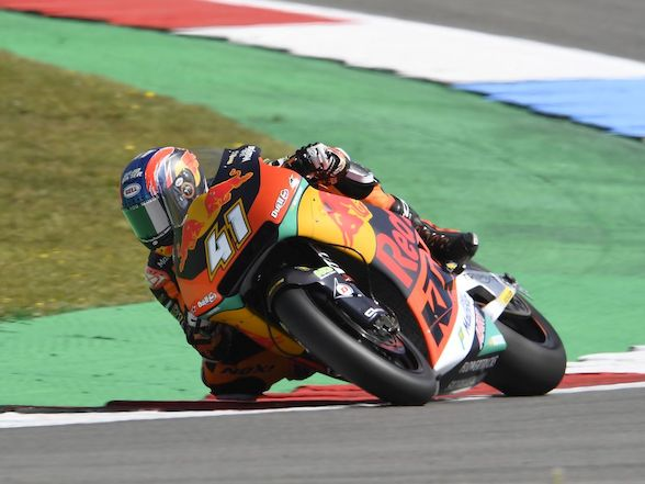 Brad Binder tops timesheets on Day One of Assen