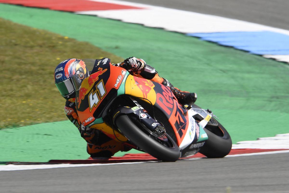 Brad Binder tops Assen day one KTM Moto2