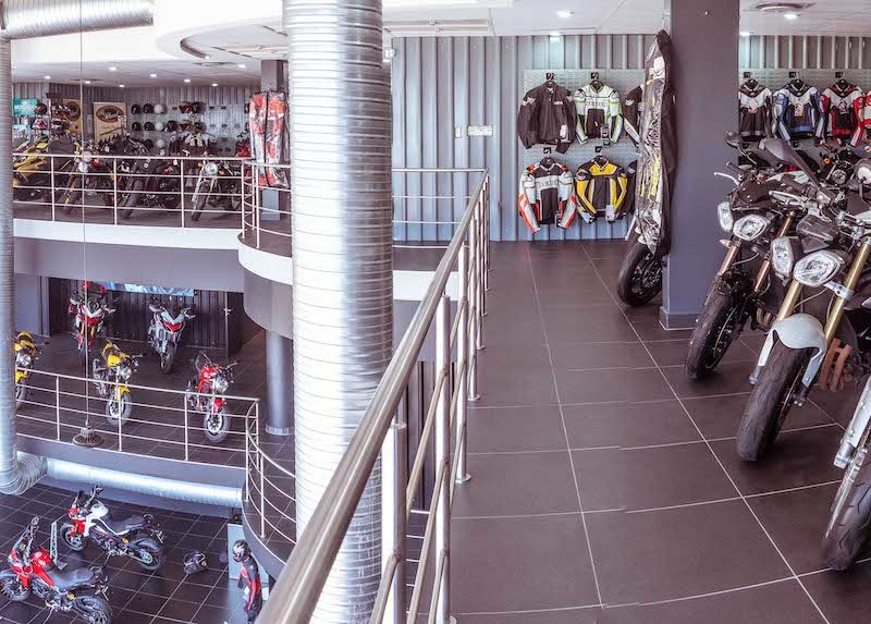 Ducati South Africa Showroom
