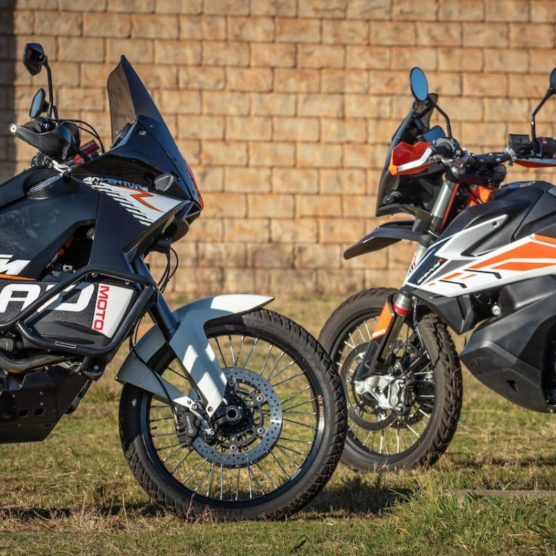 The battle for dirt supremacy: KTM 790 Adventure R vs KTM