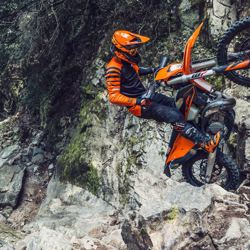 KTM 2020 EXC Enduro range launch test report – The Bike Show