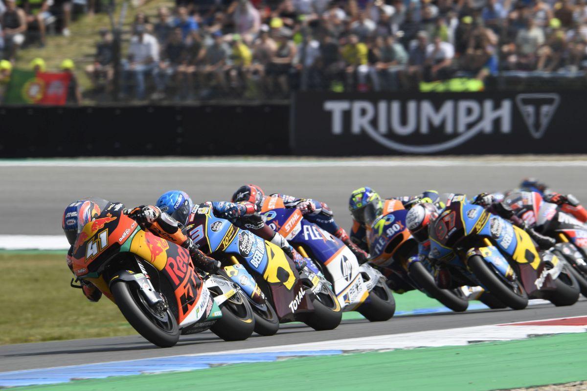 Brad Binder KTM Moto2 race pack