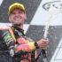 Brad Binder KTM Sachsenring Race Moto2 champagne Feature