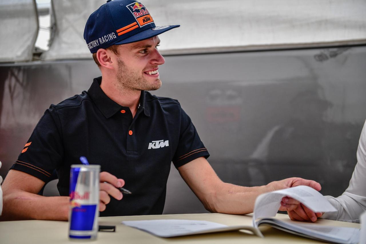 Brd Binder Signs for MotoGP KTM Tech3 2