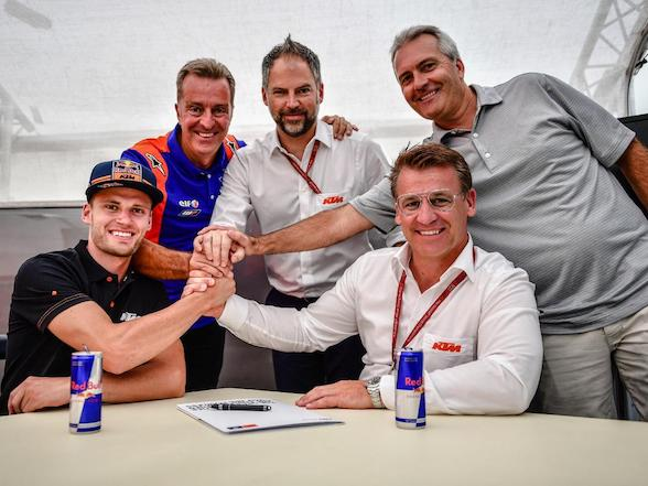 Brad Binder signs for Tech3 MotoGP team