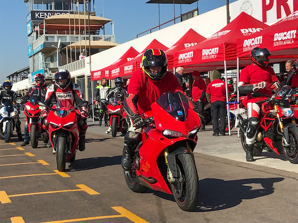 Ducati Track Day at Zwartkops