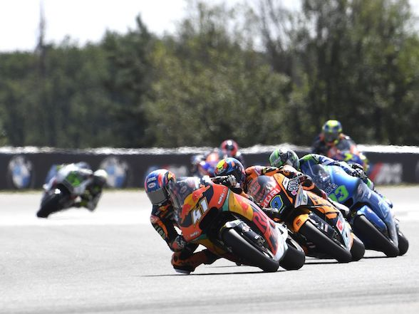 "Brad Binder on Brno: ""I just tried simply to stay on the right line"""