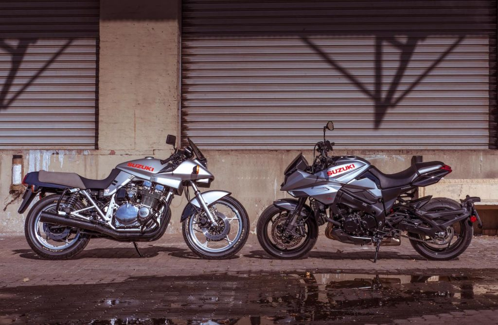 Suzuki Katana Day new and old Feature
