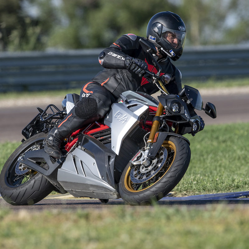 Francois van Vollenstee on the Eva Energica