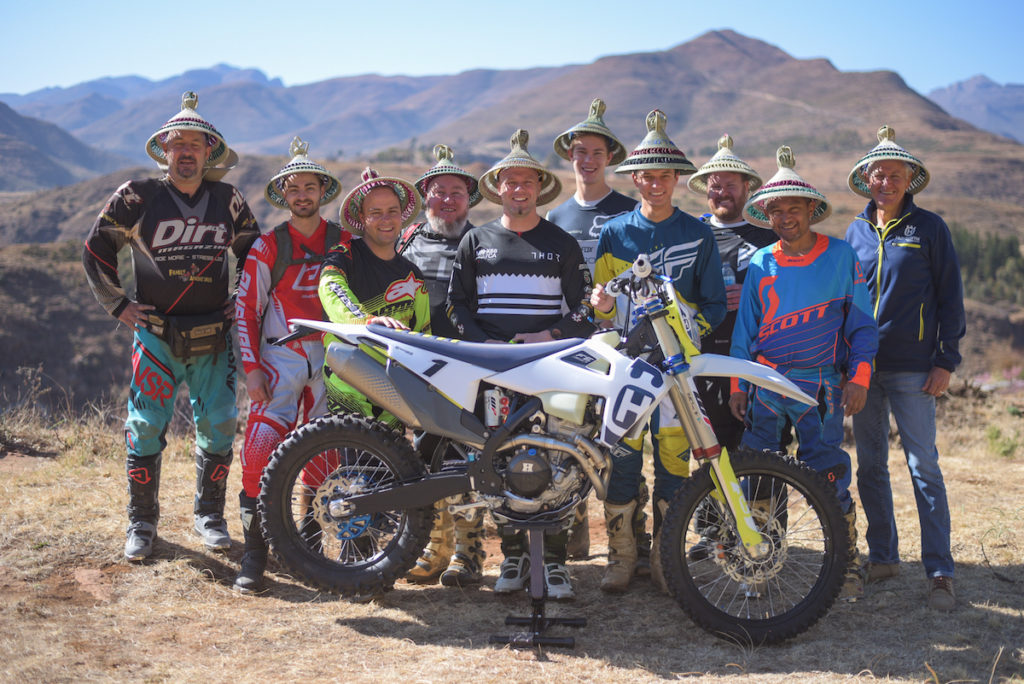 Husqvarna takes Press into the heart of Lesotho to launch the 2020 range of Enduro models captured by Sage Lee Voges for www.zcmc.co.za