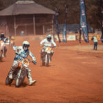 Kicking up some dust as riders hit the dirt track, 2019 Stofskop taken by ZCMC