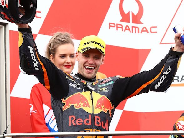 Brad Binder wins in Australia