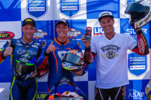 Clint Seller and Blaze Baker are crowned 2019 SA champions