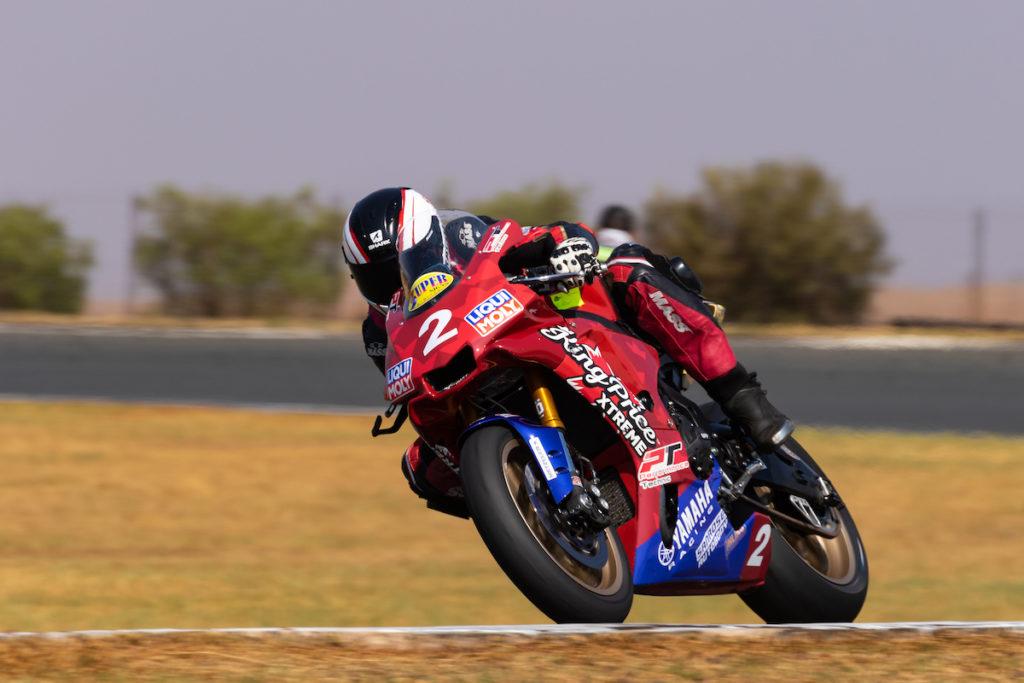 Clint Seller Blaze Bakes South African Superbike Supersport Champion race