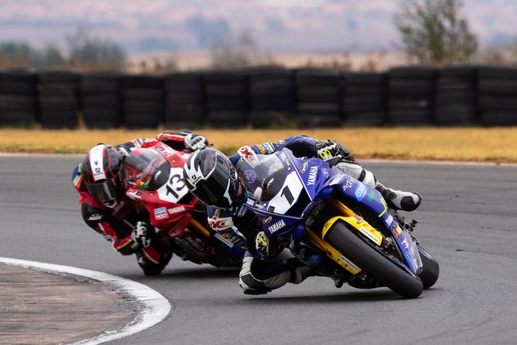 Clint Seller Blaze Bakes South African Superbike Supersport Champion race dice