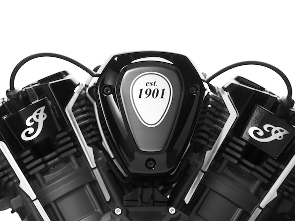 Indian unveils world's highest-performing American V-twin motor