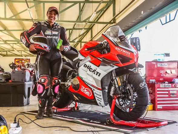 Ducati South Africa Sponsors Local Rider Morongoa Mahope