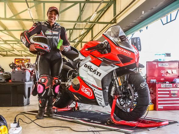 Ducati South Africa Sponsors Local Rider Morongoa Mahope