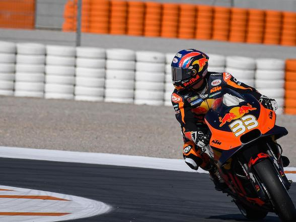 Brad Binder MotoGP test: Humility, humour and amazement