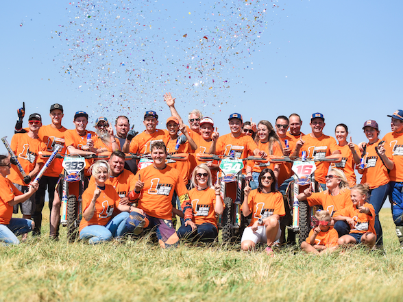 KTM Dominates National Cross Country Championship