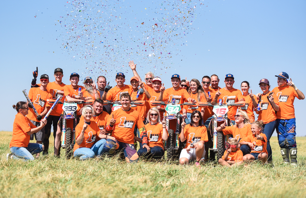 KTM dominates 2019 cross country championship team