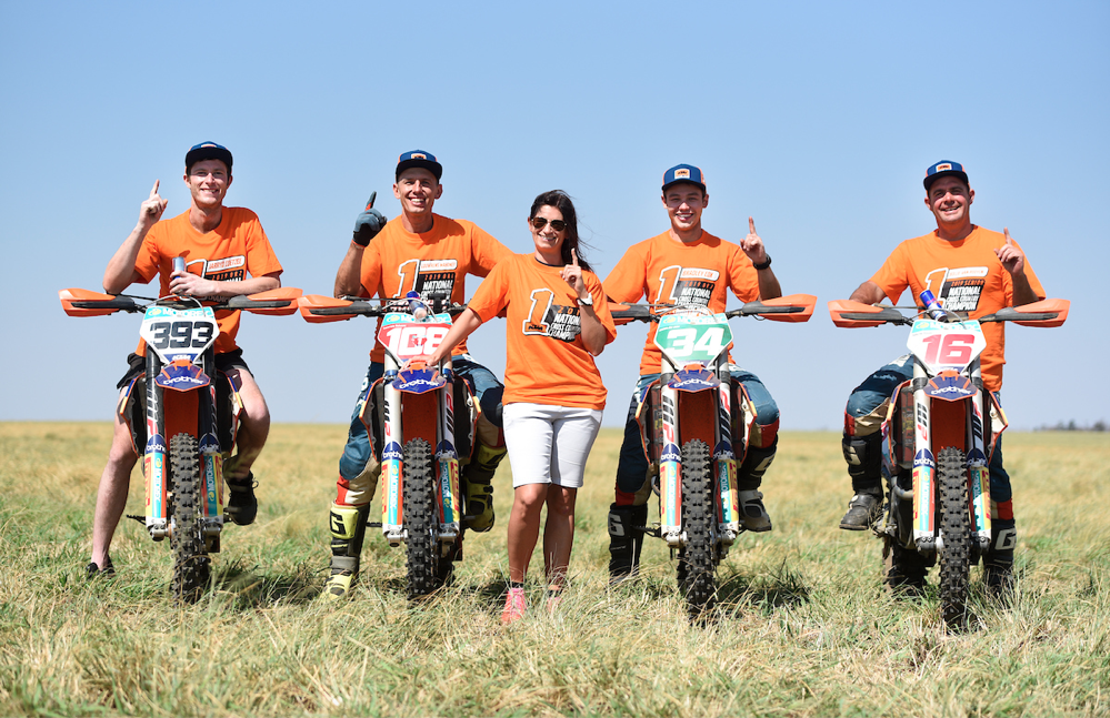 KTM dominates 2019 cross country championship winners