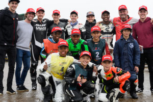 Binders and other top SA racers support SAMRA Youth Training Camp