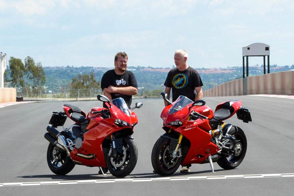 The Bike Show Mat Durrans Donovan Fourie Kyalami Ducati TV