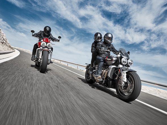 Triumph Rocket 3:2500cc of brutish gentlemanliness