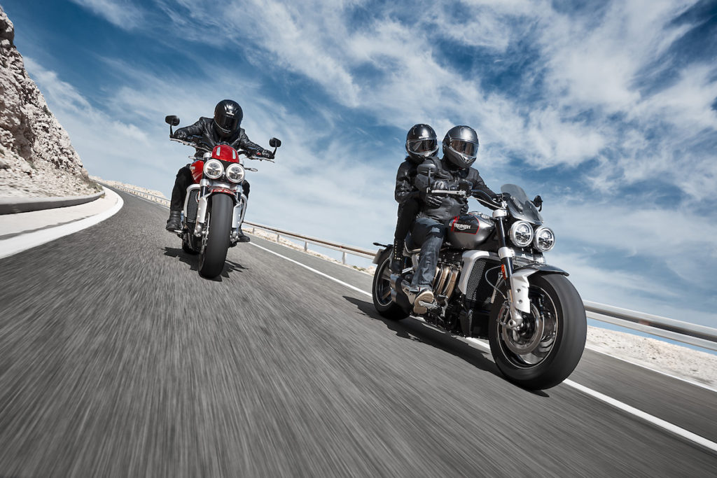 2019_Triumph Rocket_3_R_and_GT_Joint_Riding_3