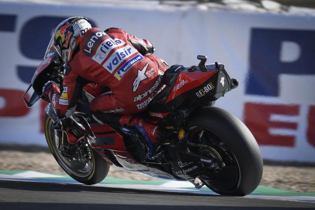 Andrea Dovizioso holeshot device Jerez MotoGP
